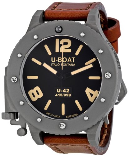 How About U Boat Men s 6157 Limited Edition U 42 Watch ... db597c8aa