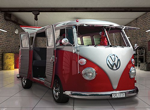 1wall-volkswagen-campervan-wall-mural-wood-red-315-x-232-m
