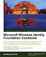 Microsoft Windows Identity Foundation Cookbook Front Cover