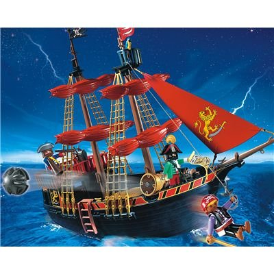 Playmobil Blackbeards Pirate Ship 4424