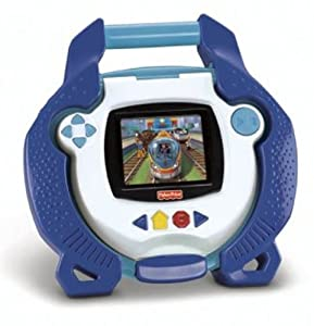 Fisher-Price Kid Tough Portable DVD Player Blue