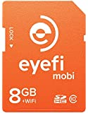 Eyefi Mobi 8GB SDHC Class 10 Wi-Fi Memory Card with 90-day Eyefi Cloud Service, Frustration Free Packaging (MOBI-8-FF)