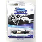 "1:64 GREENLIGHT ""Blues Brothers"" ブルース ブラザース JAKE & ELWOOD'S BLUESMOBILE ブルースモービル 1974 DODGE MONACO ダッジ モナコ GREEN MACHINE グリーンマシン"