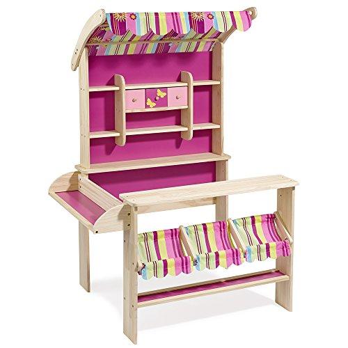 Kaufladen Mit Markise Holz Von Eichhorn ~ Kaufladen mit Markise »–› PreisSuchmaschine de