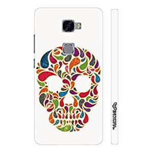 Huawei Mate S Skull Candy designer mobile hard shell case by Enthopia