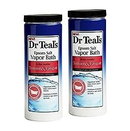 Dr Teal\'s Epsom Salt Vapor Bath 2-Pack Bundle, 22 Ounces