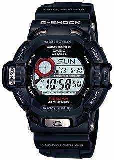 [カシオ]CASIO 腕時計 G-SHOCK ジーショック RISEMAN タフソーラー 電波時計 MULTIBAND6 GW-9200-1JF メンズ