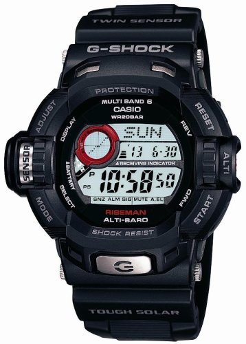 CASIO (カシオ) 腕時計 G-SHOCK RISEMAN タフソーラー 電波時計 MULTIBAND6 GW-9200J-1JF