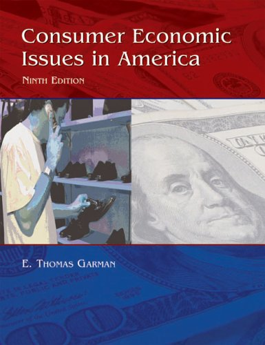 Consumer Economics Issues in America, 9e