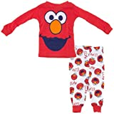 Sesame Street Elmo Boy's 2-Piece Cotton Sleepwear