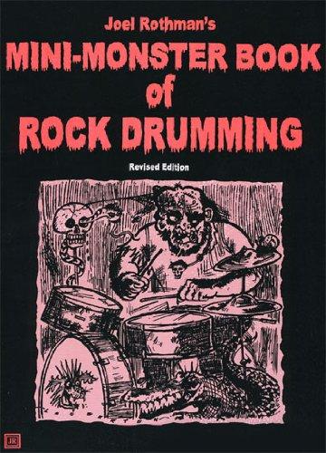 Mini Monster Book Rock Drumming - Drums - Book