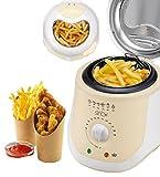 Friteuse 1 Liter Mini Fritteuse Fritöse 950 Watt Antihaftbeschichtet Frittöse