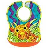 Sassy Crumb Catcher Feeding Bib(Assorted)by Sassy