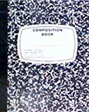 """Paper World Composition Book Soft Cover 8.5"""" X 7"""", 40-Sheets (12-Pack)"""