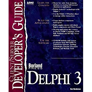 Client/Server Developer's Guide with Delphi (Sams Developer's Guides)