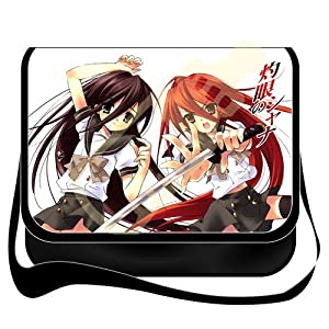 Shoulder Bag with Japanese Anime Shakugan No Shana Removable/renewable/replaceable Cover