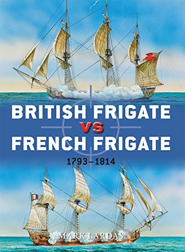 British Frigate vs French Frigate: 1793-1814 (Duel)