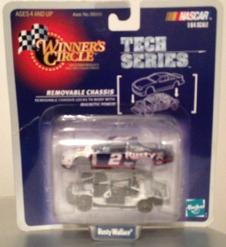NASCAR Winner's Circle Tech Series Rusty Wallace 1:64 Scale
