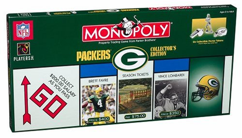 Green Bay Packers Monopoly - Buy Green Bay Packers Monopoly - Purchase Green Bay Packers Monopoly (Monopoly, Toys & Games,Categories,Games,Board Games,Money & Asset Games)