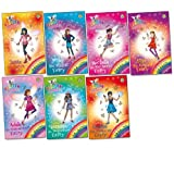 Daisy Meadows Rainbow Magic: Pop Star Fairies Pack, 7 books, RRP £34.93 (Adele Singing Coach Fairy; Frankie the Make-Up Fairy; Jessie the Lyrics Fairy; Miley the Stylist Fairy; Rochelle Star Spotter Fairy; Una the Concert Fairy; Vanessa Dance Steps Fair