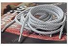 165cm 65'' 3M Reflective Rope Lace Shoelaces for Lebron XI lbj jordan X Kobe (White)