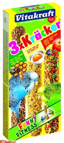 Vitakraft Kräcker Funny Fitness 3stk.mit Honig