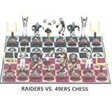 Big League Promotions Raider Versus 49ers Chess