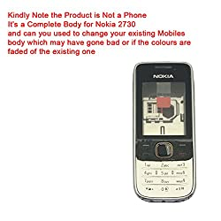 Replacement Full Housing Faceplate Body Panel for Nokia 2730