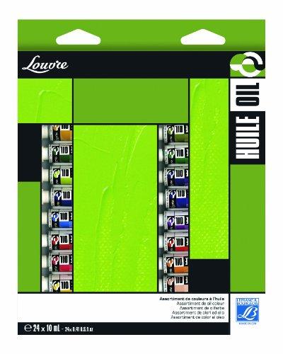 lefranc-bourgeois-louvre-pack-de-24-tubes-de-peintures-huiles-10-ml