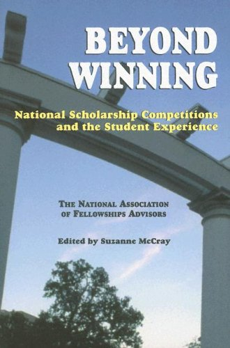 Beyond Winning: National Scholarship Competitions and the Student Experience