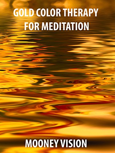 Gold Color Therapy For Meditation