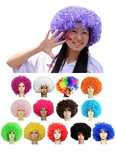 Surfwheel Disco Party Afro Wigs