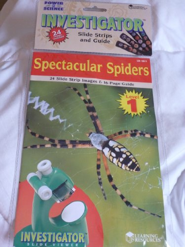 Power of Science Investigator Slide Strips Spectacular Spiders - 1