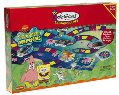 SpongeBob SquarePants Big Easy Game - Buy SpongeBob SquarePants Big Easy Game - Purchase SpongeBob SquarePants Big Easy Game (Colorforms, Toys & Games,Categories)