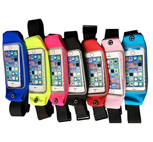 TT&FF 5,5 pollici sport telefono touchscreen impermeabile all'aperto multifunzionale della tasca portamonete/equitazione/running Pack , blue