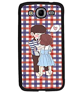 PrintDhaba Couple D-3049 Back Case Cover for SAMSUNG GALAXY MEGA 5.8 (Multi-Coloured)