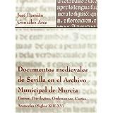 Documentos medievales de Sevilla en el archivo municipal de Murcia