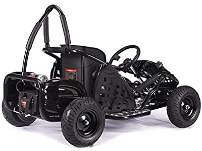 Rocker MAD MAX off-road buggy Go-kart electric 48v 1kw quad pit bike BLACK by KAYO