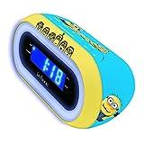 Gru: Mi Villano Favorito - Los Minions, reloj despertador (Lexibook RL140DES)