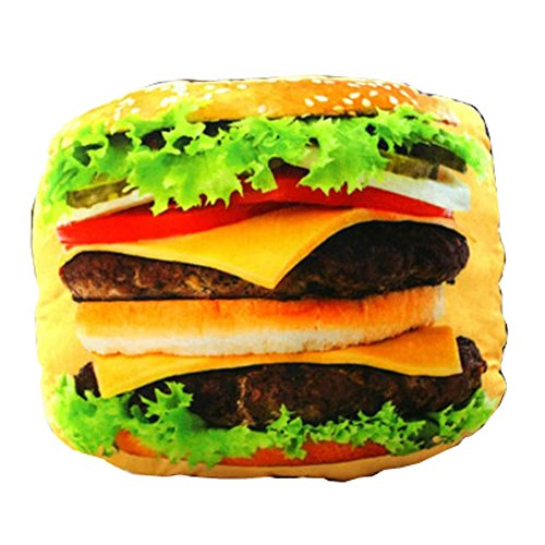 Tasty Treats Cheeseburger Pillow (Cheese It Pillow compare prices)