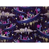 Venise, Fete de nuit furnishing fabric, by Georges Barbier (Print On Demand)