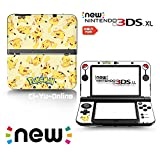 Ci-Yu-Online VINYL SKIN [new 3DS XL] - Pokemon #4 Pikachu Yellow - Limited Edition STICKER DECAL COVER for NEW Nintendo 3DS XL / LL Console System