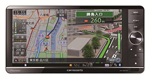 Pioneer  7V型ワイドVGA地上デジタルTV/DVD-V/CD/Bluetooth/SD/チューナー・DSP AV一体型HDDナビ AVIC-ZH0777W