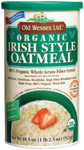 Old Wessex Ltd. Organic Irish Style Oatmeal