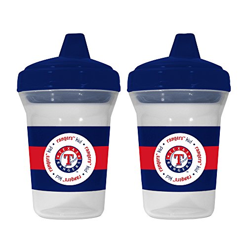 MLB Texas Rangers Sippy Cups, 2-Pack