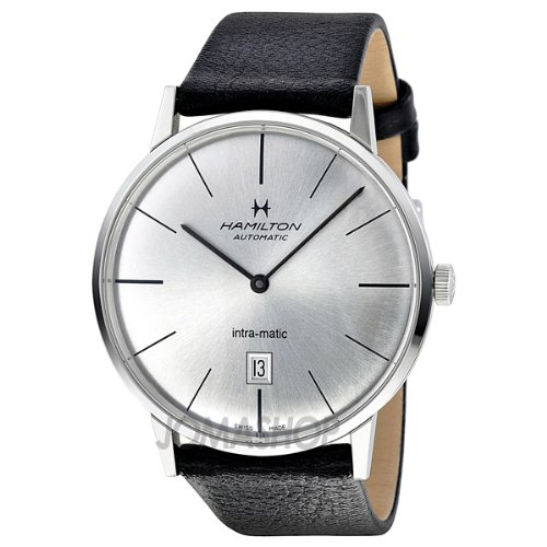 Hamilton American Classic Intra-Matic Silver Dial Mens Watch H38755751