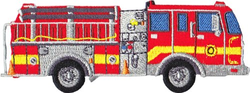 Application Rescue Large Firetruck Patch - 1