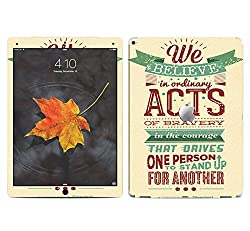 Theskinmantra Acts Extraordinary SKIN/STICKER/VINYL for Apple Ipad Pro Tablet 12.9 inch