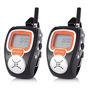 freetalker walkie talkie watch instructions