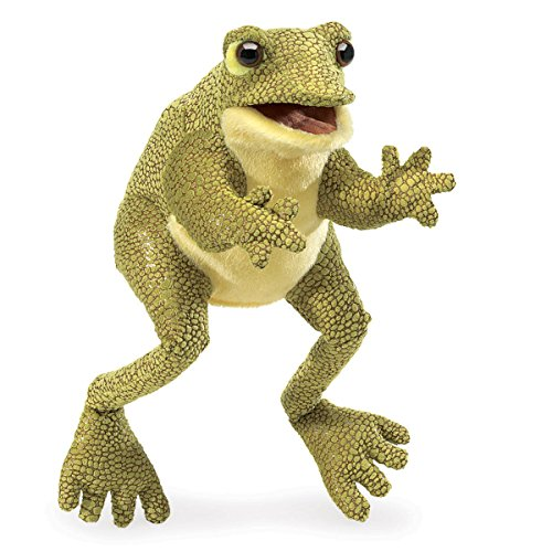 Folkmanis-Funny-Frog-Hand-Puppet